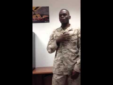 Drill Instructor LCpl Johnson: Aye Sir!