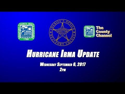 Hurricane Irma Update 09/06/2017 @ 2pm (Beaufort County, SC)