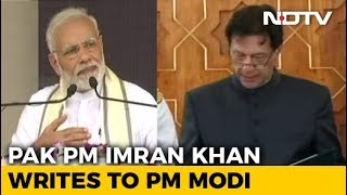 Imran Khan Writes To PM Modi Seeking Resumption Of India-Pak Dialogue