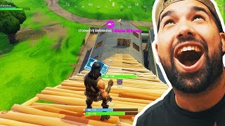 HOW HIGH CAN IT GO..! - Fortnite Battle Royal Funny Moments thumbnail