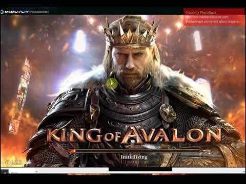 King Of Avalon Clash Of Kings Final FantasyXV War And Order Working Bot Memu Setup Do First
