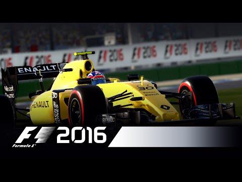 F1 2016 - Jolyon Palmer Baku Flying Lap