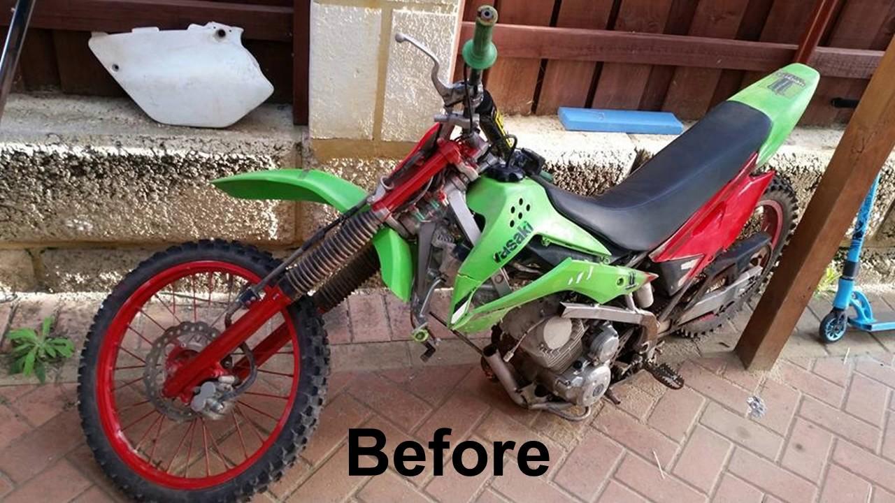 Dirtbike Restoration Youtube