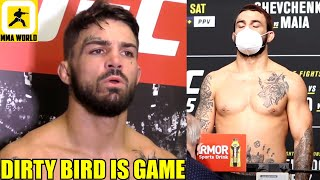 Mike Perry Reacts To Missing Weight By 4.5lbs For UFC 255 Fight Versus Tim Means,Bisping On Chandler