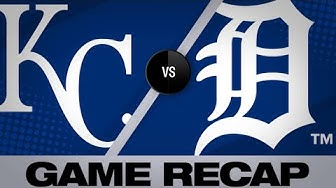 Royals score 15 runs to overtake Tigers - 5/4/19
