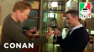 Conan takes Jordan to one of his favorite wineries and in return, Jordan annoys and insults him. More CONAN @ http://teamcoco.com/video Team Coco is the ...