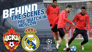 Real Madrid: Pre-match | TRAVEL, GOALS AND HIGHLIGHTS in Moscow