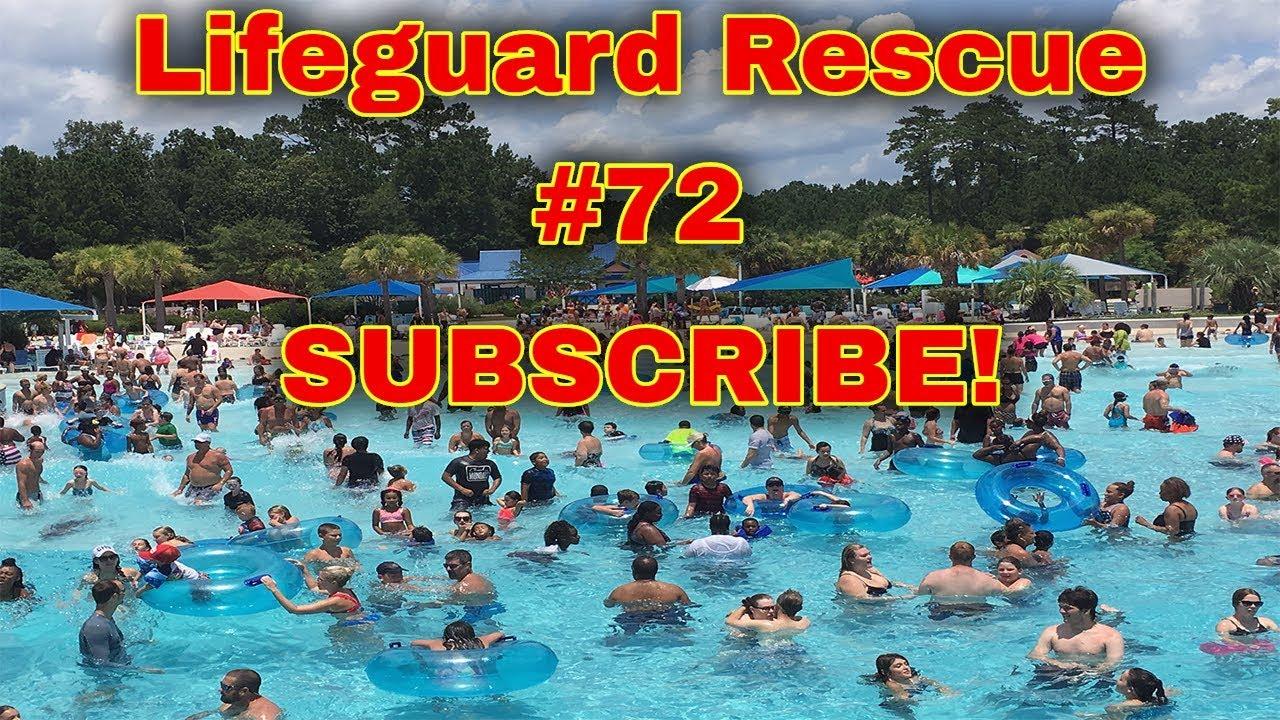 Wavepool Lifeguard Rescue 72 - Spot the Drowning!