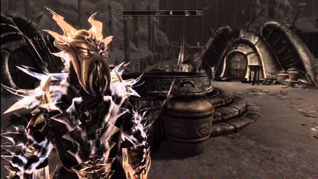 Skyrim: Dragon Aspect Shout - YouTube