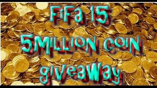 Fifa 15 ultimate team - up to 5 million coin givaway