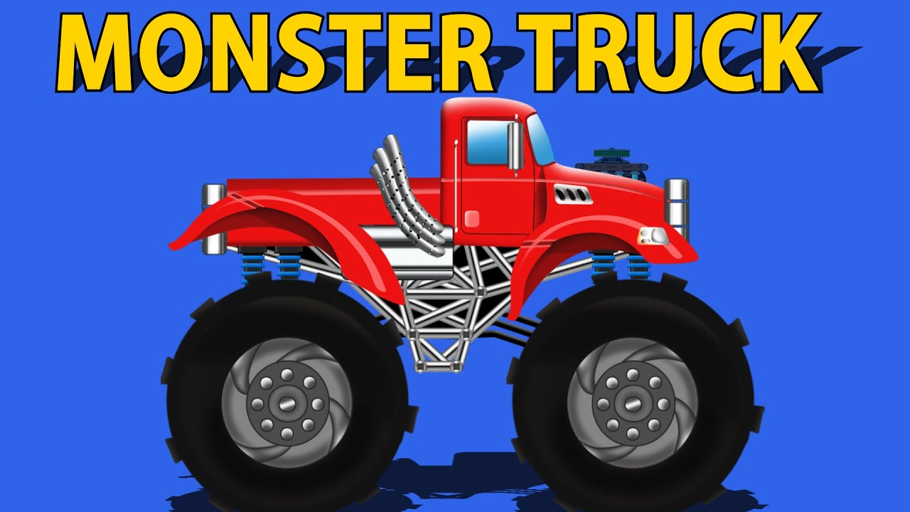 Kids Monster Truck Free Videos