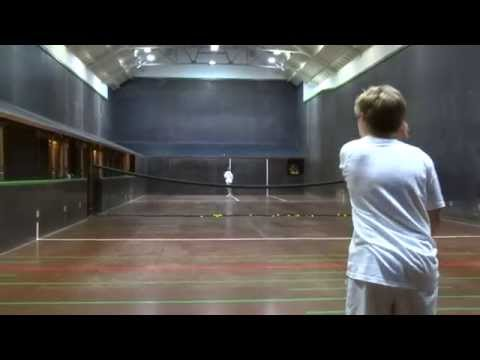 Real Tennis National Junior Singles B Grade Final 2014