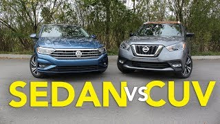 Volkswagen Jetta vs Nissan Kicks: Is a Sedan Better than a Crossover?
