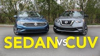 Volkswagen Jetta Vs Nissan Kicks: Is A Sedan Better Than A Crossover?