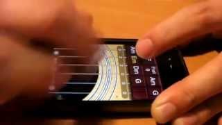 Приложение гитара для телефона.mp4(Видео ролик показывает возможности приложения Скачать приложение http://mobila-soft.net/games/simulator/51/51.html., 2012-12-14T12:12:44.000Z)