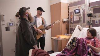 SWIMS TV - TEDDY SINGS AT CHILDREN'S HOSPITAL