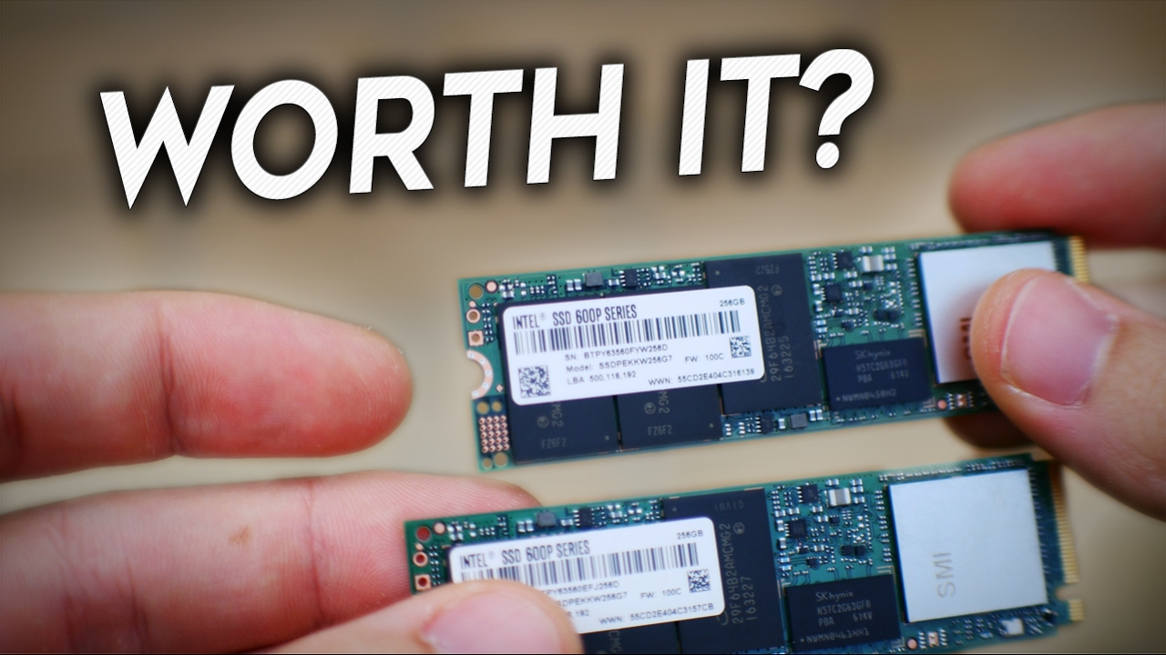 Raid 0 With The Intel 600P NVMe m 2 PCie Drives - Is it Worth it?