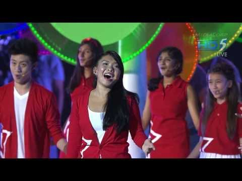 NDP 2013 Theme Song: One Singapore Live Performance, 9 Aug 2013 (Full HD)