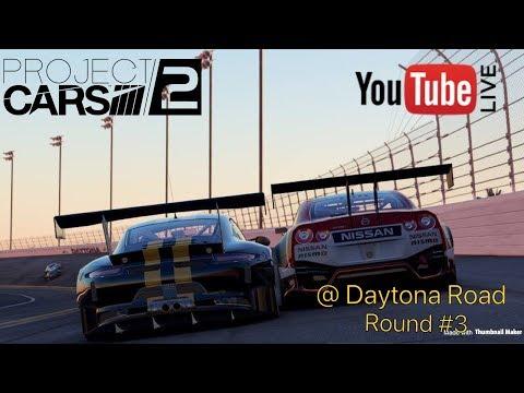 Project CARS 2 Live* @ Daytona Road Circuit EDC Championship Race 3 Gameplay PS4