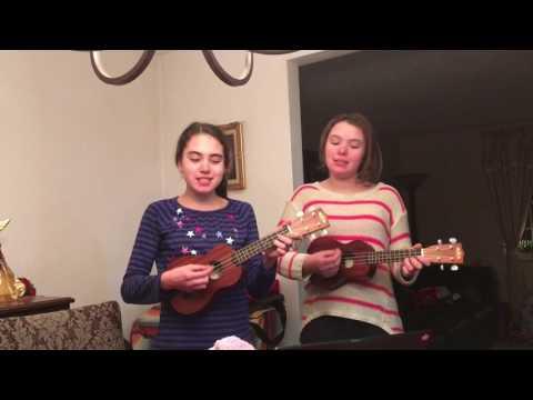 We Got Love -Keeley and Miarra practice for Ingomar Middle School talent show