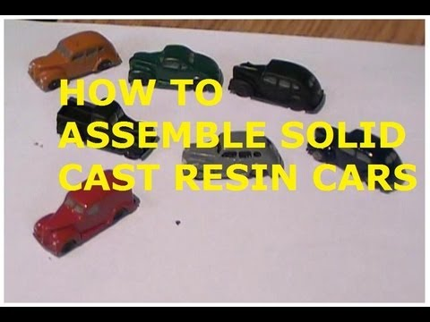 how to build solid cast resin cars for your model railroad youtube. Black Bedroom Furniture Sets. Home Design Ideas