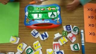Preschool Word Building/Rhyming