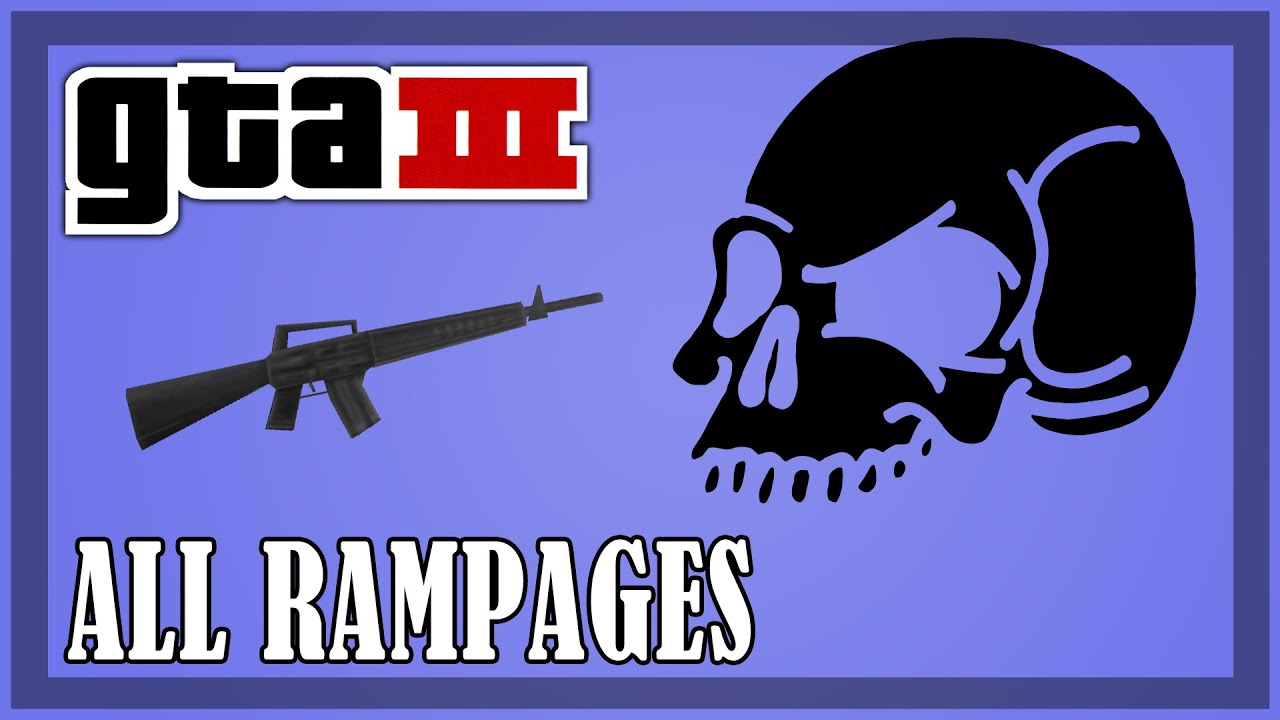 Gta 3 Rampages Map
