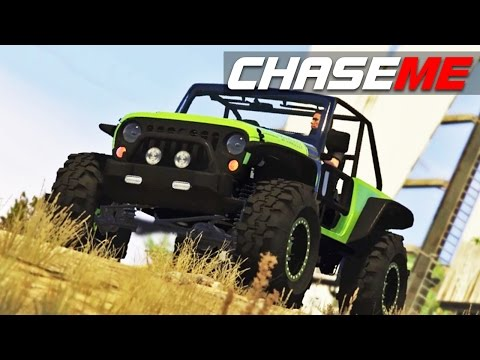 Chase Me in GTA V E25 - Jeep Trailcat Only Offroad