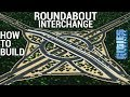 How to build a ROUNDABOUT INTERCHANGE! (+Download) [ENGLISH] | Cities: Skylines