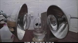 Radiometer Suspended on a Thread