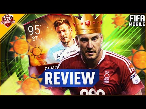 FIFA MOBILE 95 LORD BENDTNER REVIEW #FIFAMOBILE SUMMER CELEBRATIONS MASTER  BENDTNER PLAYER REVIEW