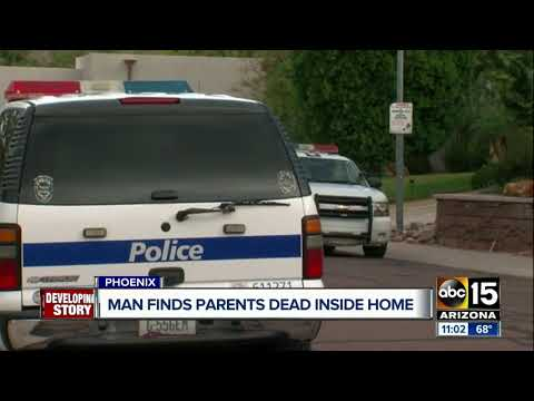 Two found dead inside Phoenix house