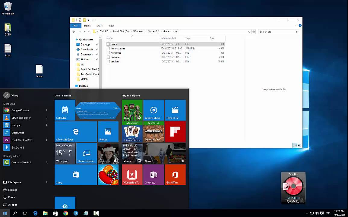 How to Modify the Hosts File in Windows 10