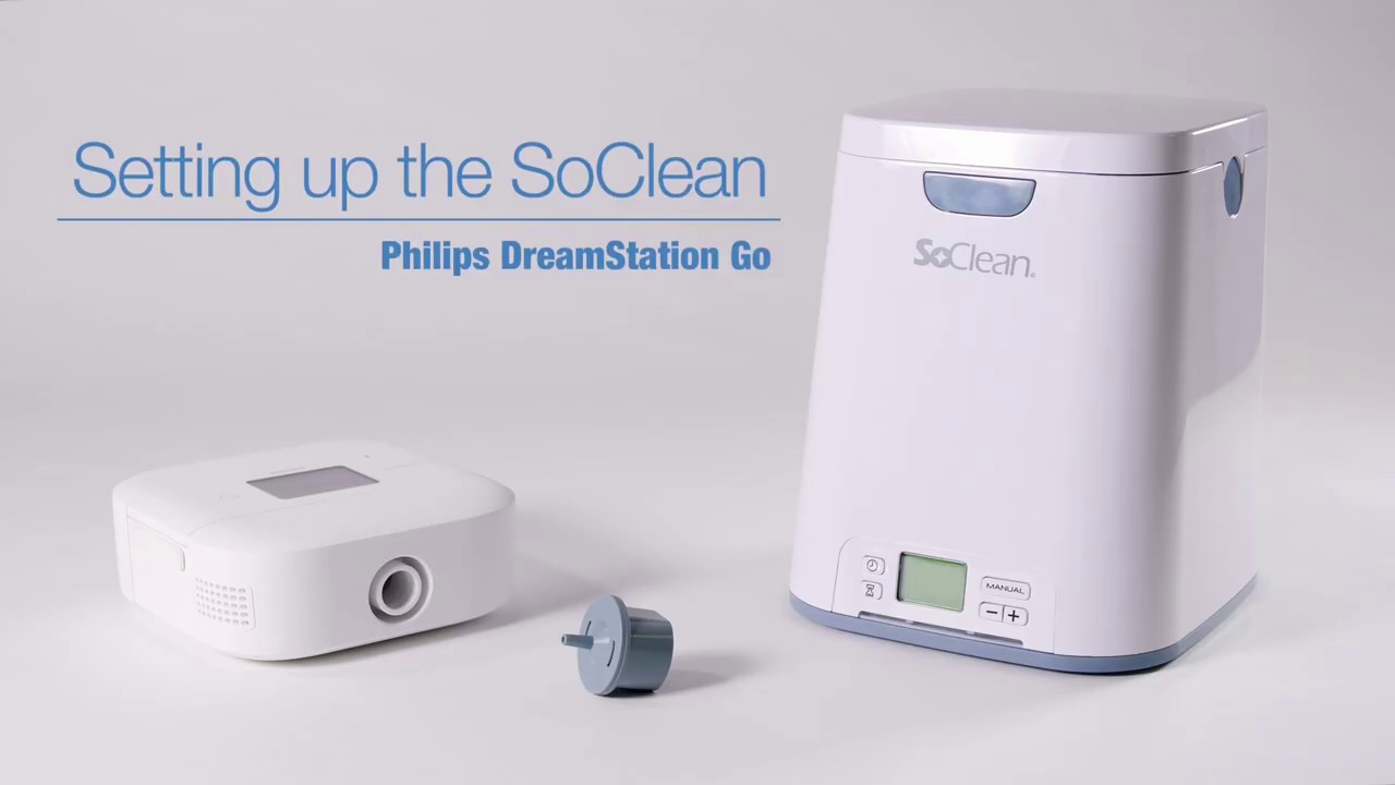 Installing the DreamStation Go Tubing Adapter for SoClean CPAP Sanitizers -  DirectHomeMedical