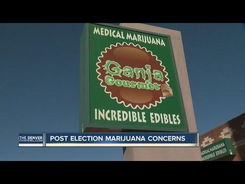 Colorado post-election marijuana concerns