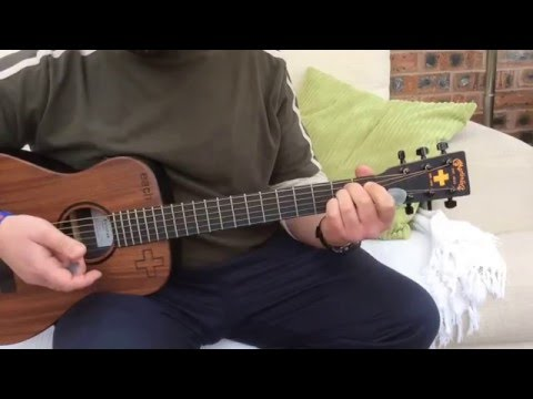 Cast-Live The Dream-Acoustic guitar lesson.