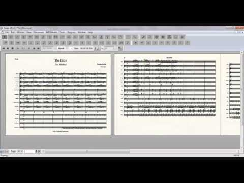 The Hills - Marching Band Sheet Music (The Weeknd)