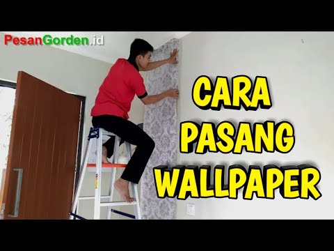 Cara Pasang Wallpaper  || Jual Wallpaper  085287651175 HOW TO APPLY WALLPAPER