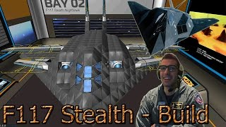 Robocraft (ITA) - Stealth (F-117 Nighthawk) Build - Costruiamo un jet enorme!