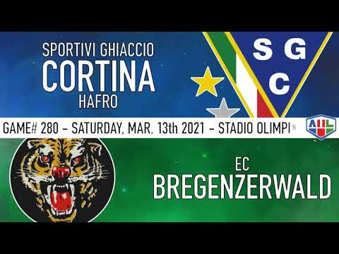 SGC CORTINA HAFRO vs EC BREGENZERWALD 13 Marzo 2021