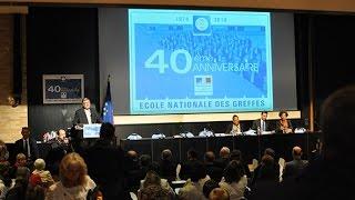 Les 40 ans de l'Ecole Nationale des Greffes (ENG) à Dijon en 2014