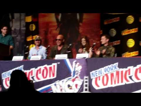 The Last Witch Hunter Panel at the New York Comic Con clip 1
