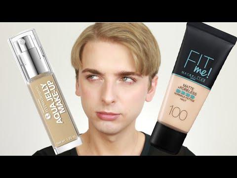 Test i Pierwsze wrażenie : Bell Aqua Jelly Make-up i Maybelline Fit me! Matte + Poreless
