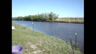 Рыбалка на карася секретное место Запорожье.