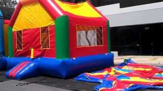13x13 Fun House - Inflatable Bounce House Rental For Sale
