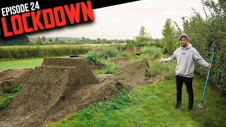RETURNING TO THE BACKYARD TRAILS FOR MORE BUILDING!! LOCKDOWN EP24