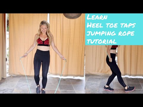 How to do Heel Toe Taps Jumping Rope in minutes