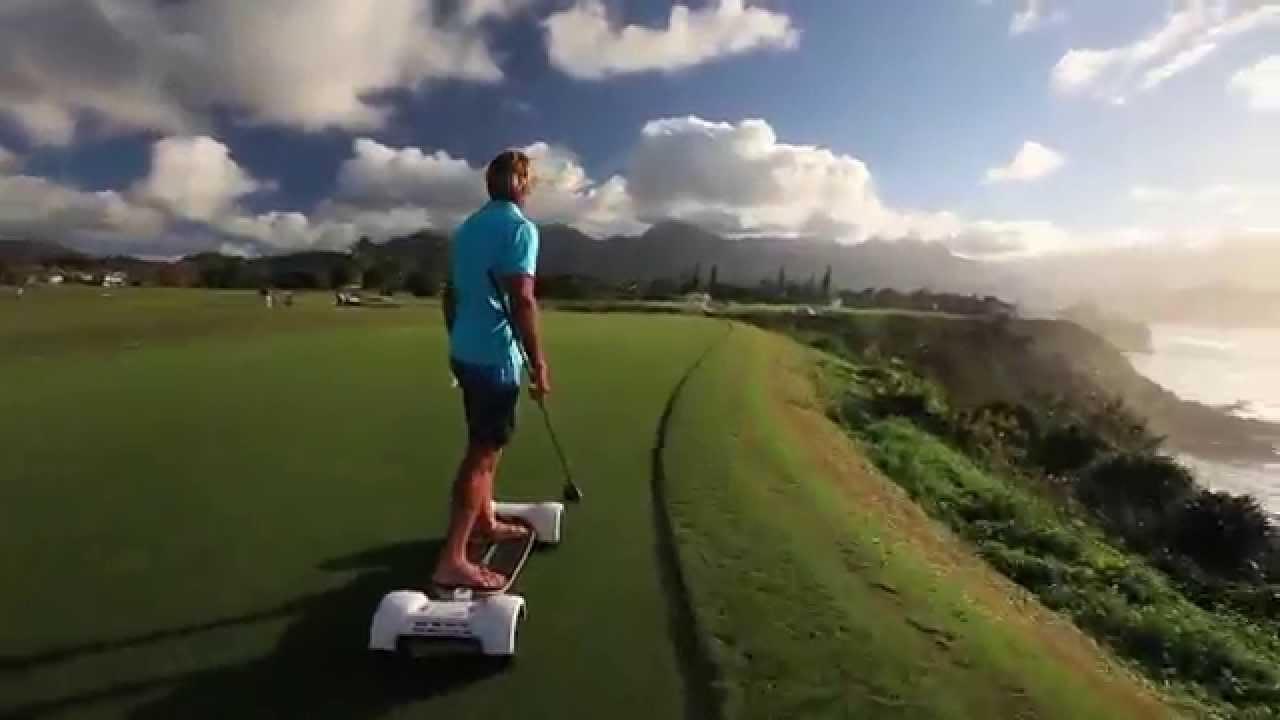 Laird Hamilton Introduces GolfBoard 2015 HD - YouTube on michael jordan golf cart, adam sandler golf cart, tiger woods golf cart, peyton manning golf cart, surfing golf cart, jeff gordon golf cart,