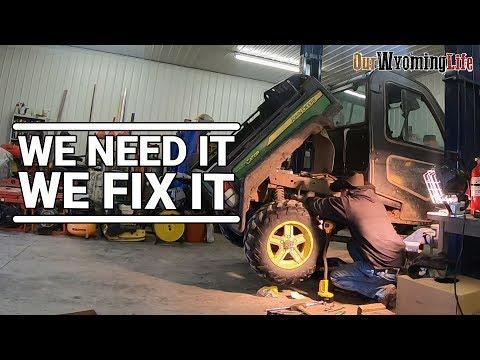 Repairing The John Deere Gator 825i