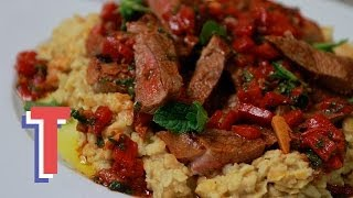 Lamb Steaks With Chermoula Sauce: Feed My Friends S01e3/8